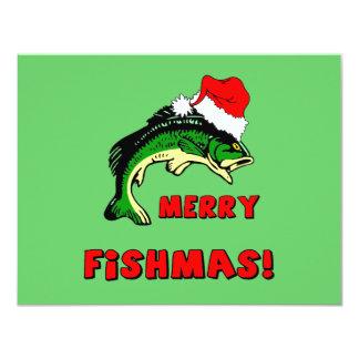 Pêche drôle de Noël Faire-parts