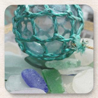 Pêche du flotteur sur le verre, l'Alaska Sous-bock