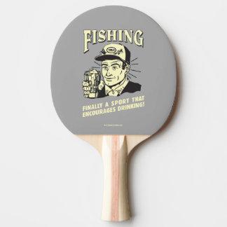 Pêche : Le sport encourage le boire Raquette Tennis De Table