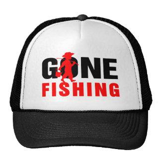 Pêche noire et Rouge-Allée Casquettes