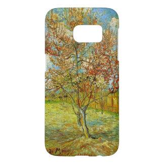 Pêcher rose de Van Gogh dans la fleur, beaux-arts Coque Samsung Galaxy S7
