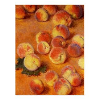 Pêches par Claude Monet Carte Postale