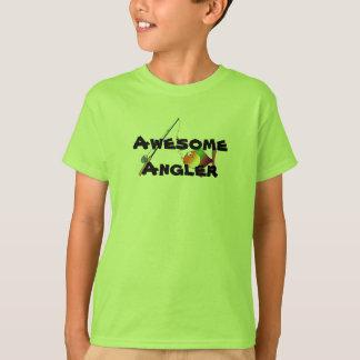 Pêcheur à la ligne impressionnant t-shirt