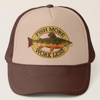 Pêcheur de mouche de truite de ruisseau casquette