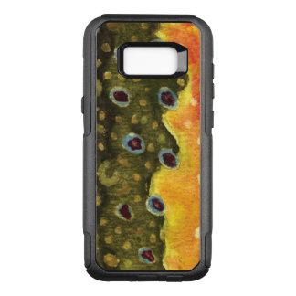 Pêcheur de truite de ruisseau, Ichthyologist Coque Samsung Galaxy S8+ Par OtterBox Commuter