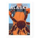 Pêcheur limule - Ketchikan, Alaska Carte Postale