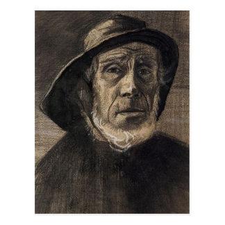 Pêcheur principal, suroît de barbe, Vincent van Carte Postale