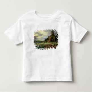 Pêcheurs sur le rivage t-shirt pour les tous petits
