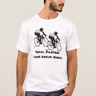 Pédale plus rapide, T-shirt de base