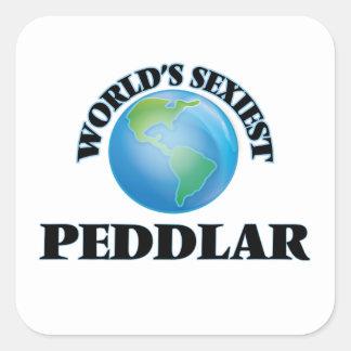 Peddlar le plus sexy du monde sticker carré