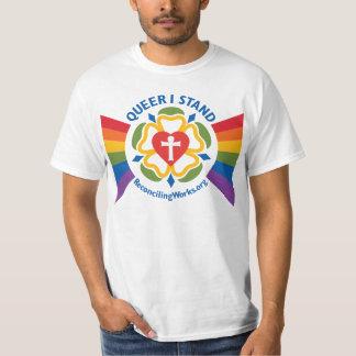 """""""Pédé je tiens"""" le T-shirt (sur le tissu léger)"""