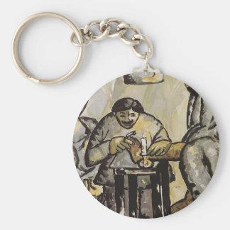 Pedicurist dans les bains par Kazimir Malevich Porte-clef