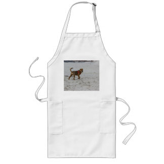 pei shar sur la plage tabliers