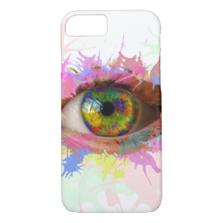 Peignez la caisse d'oeil (iPhone 7) Coque iPhone 7