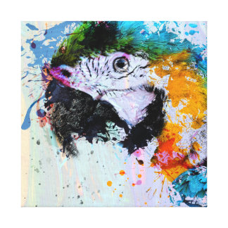 Peignez la copie de toile du perroquet | toiles
