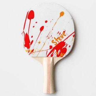 Peignez la palette faite sur commande de ping-pong raquette de ping pong
