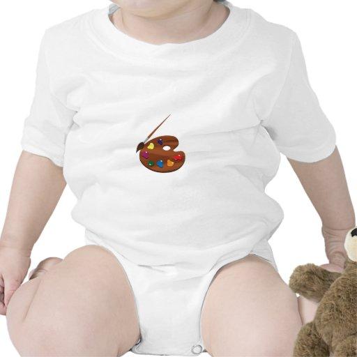 Peignez la palette body pour bébé