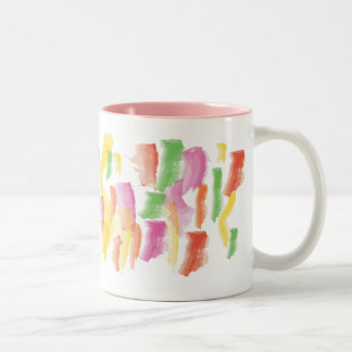 Peignez la tasse souillée