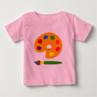 Peignez l'art de palette t-shirt