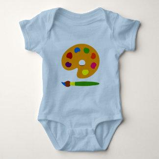 Peignez l'art de palette t-shirts