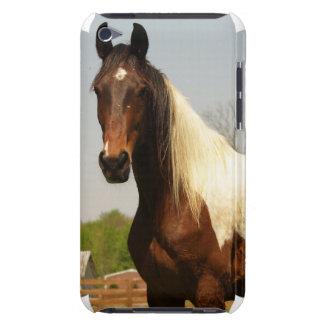 Peignez le cas d'iTouch de cheval Coques iPod Touch