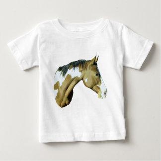 Peignez le cheval, Madame T-shirt Pour Bébé