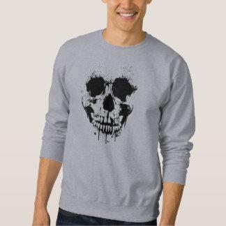 Peignez le sweatshirt de crâne d'égouttement