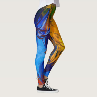 Peinture abstraite #1 leggings