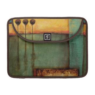 Peinture abstraite avec des clés de piano poches pour macbook pro