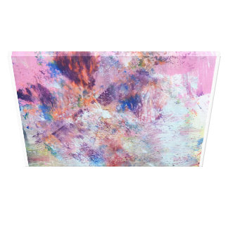 Peinture abstraite colorée toile