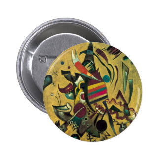Peinture abstraite de toile de points de Kandinsky Badge
