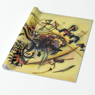 Peinture abstraite de toile de points de Kandinsky Papier Cadeau