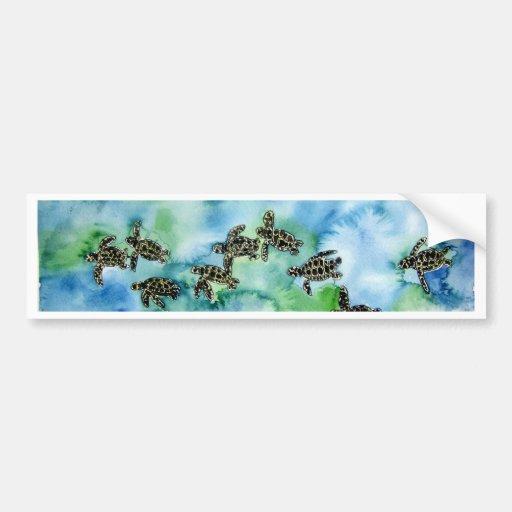 Peinture animale de faune de reptile de tortues de adh sif - Peinture resistant al eau ...