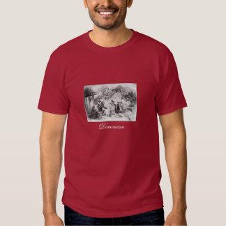 Peinture antique de la République Dominicaine T-shirts