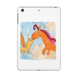 Peinture d'aquarelle avec Pegasus et le sien