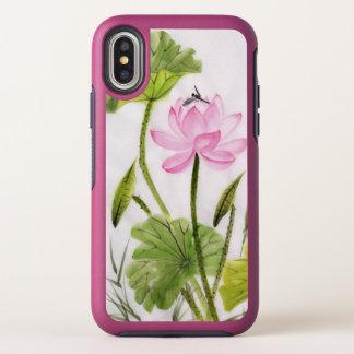 Peinture d'aquarelle de fleur de Lotus
