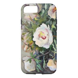 Peinture d'aquarelle des belles fleurs coque iPhone 7