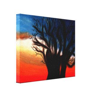 Peinture d'arbre de baobab toiles tendues