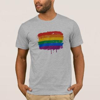 Peinture d'arc-en-ciel t-shirt