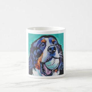 Peinture d'art de bruit de chien de montagne de mug