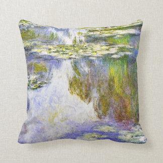 Peinture de beaux-arts de Claude Monet de Oreiller