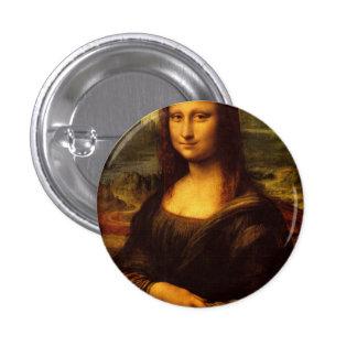 Peinture de beaux-arts de Leonardo da Vinci Mona Badges
