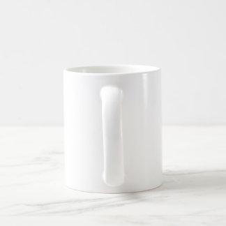 Peinture de cascade mug blanc