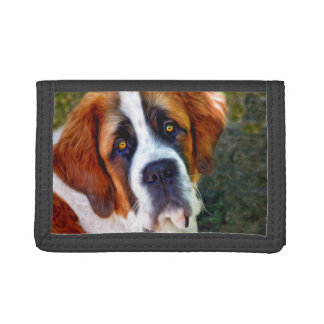Peinture de chien de St Bernard