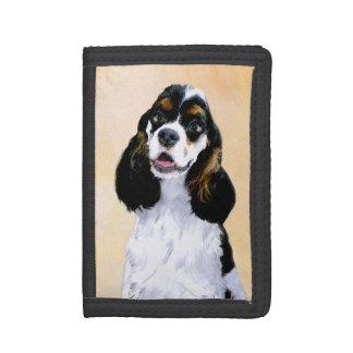 Peinture de cocker (Parti) - art original de chien