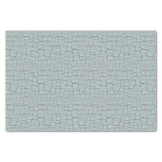 Peinture de craquement de bleu de fer papier mousseline