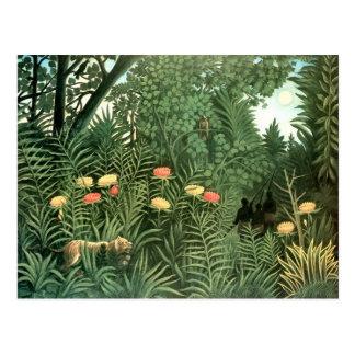 Peinture de Henri Rousseau Carte Postale