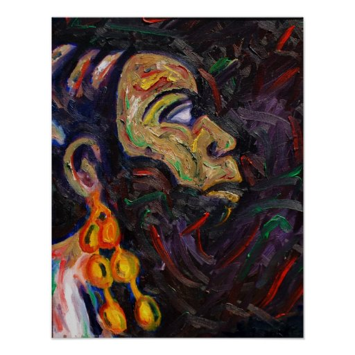 Peinture de jazz de nina simone posters zazzle - Poster peinture ...