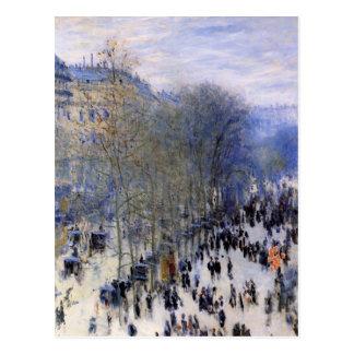 Peinture de Monet Carte Postale
