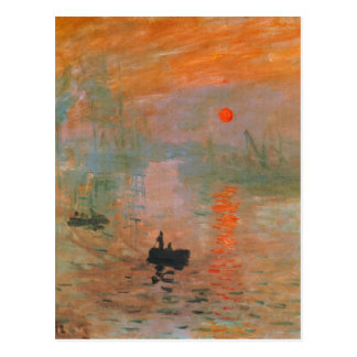 Peinture de Monet Cartes Postales